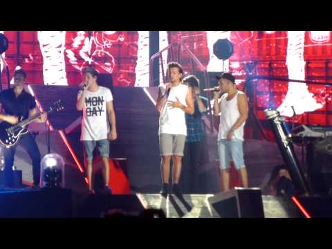 One Direction  -  Strong And Better Than Words -  Houston August 22, 2014