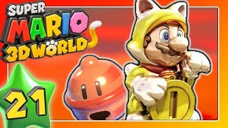 SUPER MARIO 3D WORLD 🐱 Part 21: Lucky Bell & Lucky Cat