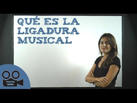 Qué es la ligadura musical