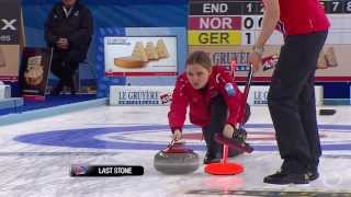 CURLING: NOR-GER Euro Chps 2013 Women Draw 5 HIGHLIGHTS