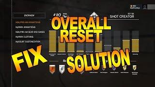 NBA2K17 OVERALL RESET FIX/SOLUTION