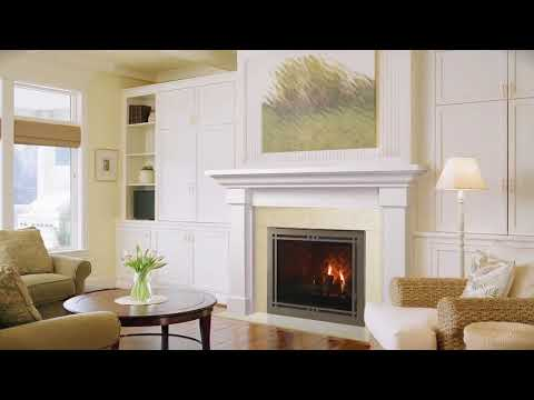 Majestic® Meridian Series Gas Fireplace | Builders Choice Air Systems