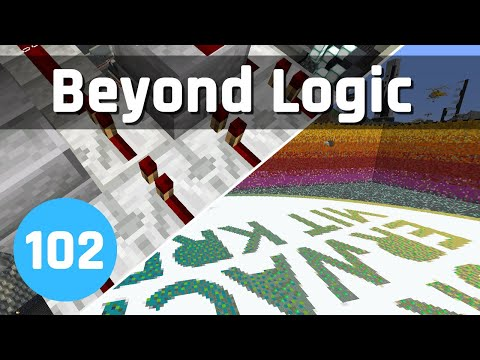 Beyond Logic #102: Farm Controls and Digging for Charity | Minecraft 1.14