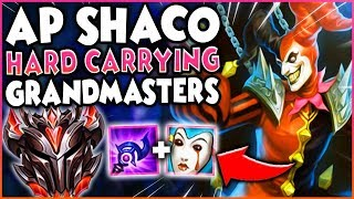 AP SHACO SUPPORT HARD CARRYING IN GRANDMASTERS!
