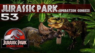 Jurassic Park: Operation Genesis - Episode 53 - Battle it out