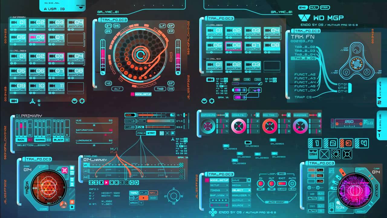 Sci Fi Computer Interface Prometheus Holo table ...