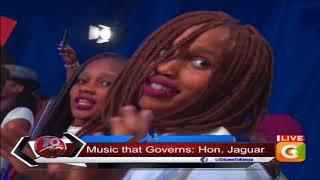 Honourable performance, Mheshimiwa Jaguar performs on #10Over10
