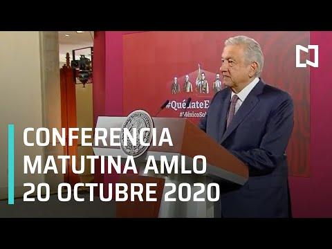 Conferencia matutina AMLO / 20 de octubre 2020