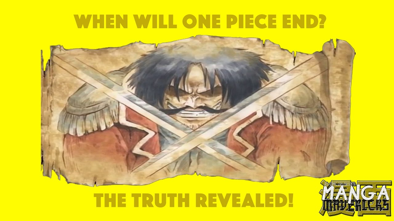 When Will One Piece End? The TRUTH Revealed!!