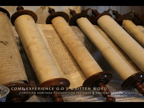 Ancient Hebrew Scroll Show