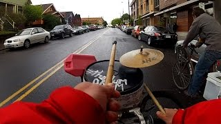 GoPro: Drum Bike Guy