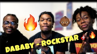 DABABY MADE A WHOLE MOVIE!! DABABY FT.  RODDY RICCH -  ROCKSTAR! REACTION #CBTVReacts