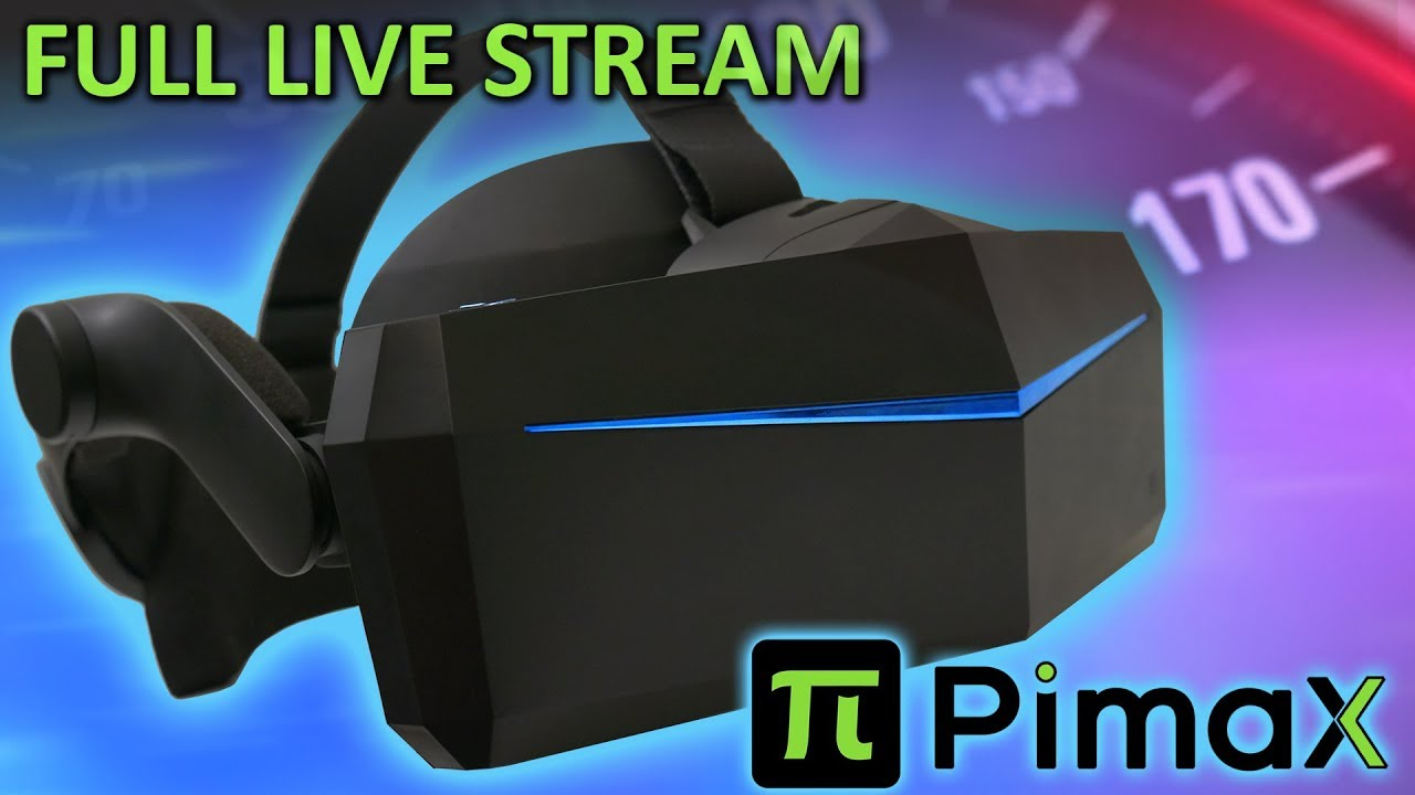 Pimax Announces New Virtual Reality Glasses, Accessories and