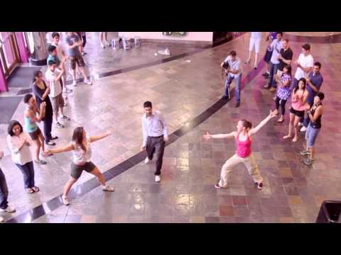 Best Surprise Flashmob Proposal: Archit and Amy's Engagement (Edwards Cinema, Houston)