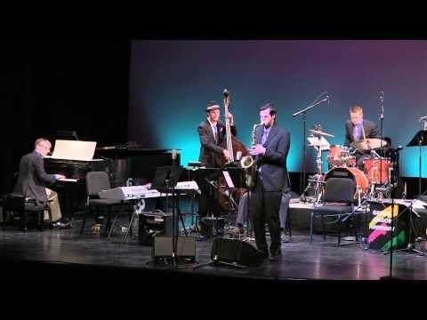 "George Mason Jazz Ensemble performs ""Baise"" - Big Band Showdown 2015"