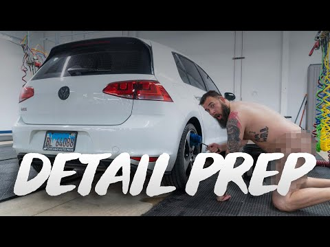 A Detailer's Secrets On How To Prep A Car For Detailing