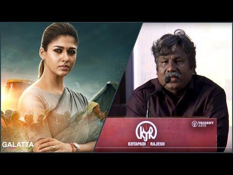 Big Heroes Rejected Aramm But Nayanthara Didn't Hesitate | Director Gopi Nainar