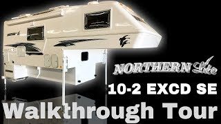 2019 Northern Lite 10-2 EXCD SE Truck Camper Walkthrough Tour