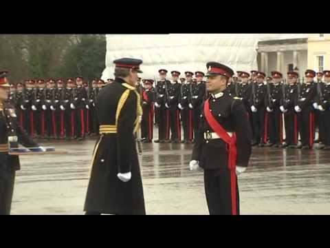 Afghan Officers Watch Sandhurst Allies On Parade | Forces TV