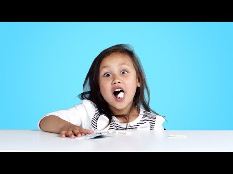 Kids Try Weird Gum Flavors | Kids Try | HiHo Kids