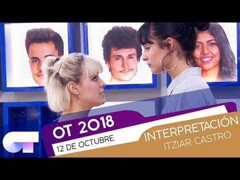 CLASE de ITZIAR con NATALIA y ALBA RECHE (12OCT) | OT 2018