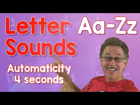 Letter Sounds Automaticity   Upper and Lower Case   4 Seconds   Jack Hartmann