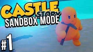Castle Story: Sandbox | PART 1 | RESOURCE GATHERING
