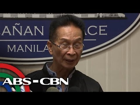 Panelo on Duterte critics raising impeachment talks | ANC