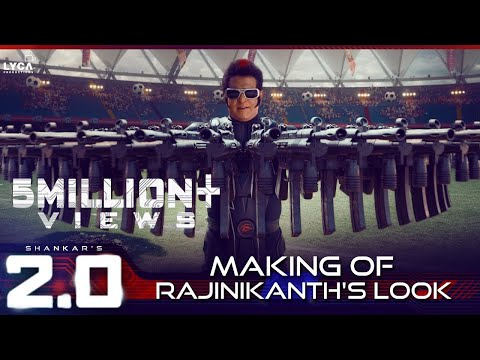 2.0 | Making of Rajinikanth's Look | Akshay Kumar | A R Rahman | Shankar | Lyca Productions