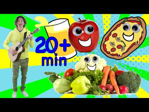 Study English Online For Kids | Food Songs For Learning | Learn With Matt