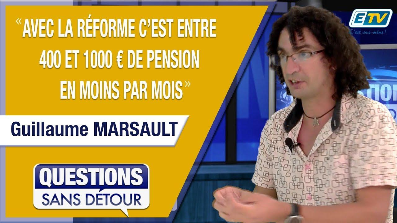 Questions Sans Détour avec Guillaume MARSAULT