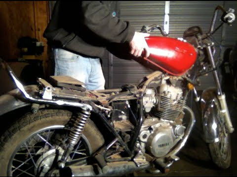 Motorcycle Gas Tank Removal  YouTube