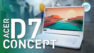 Recensione Acer CONCEPTD 7, la potenza del gaming di bianco vestita