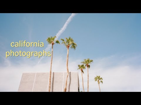 Making Film Photographs In California