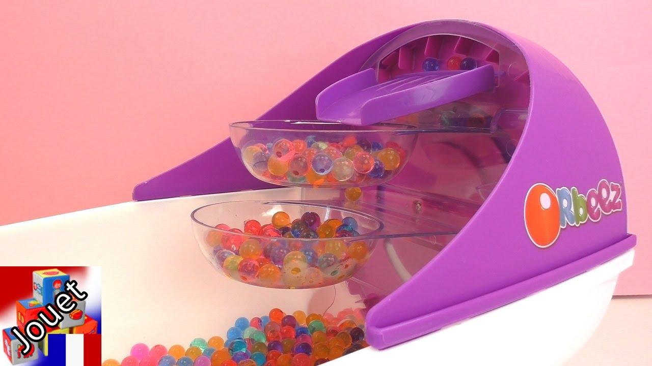 Pate A Modeler Pour Le Bain bain pour les pieds orbeez 1500 perles orbeez   perles molles jeu pour  enfants   démo