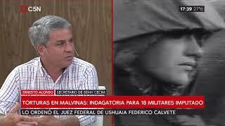 Torturas en Malvinas: Indagatoria para 18 militares imputados
