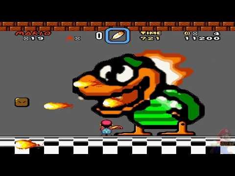 Super Kitiku Mario - Brutal Mario HD 100% World 8: Bowser's Valley (Castle) Part 2