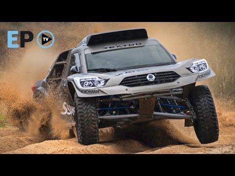 El coche de Diego Vallejo para el Dakar 2019