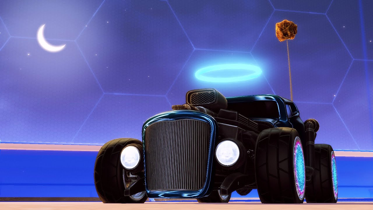 the oldest car in rocket league