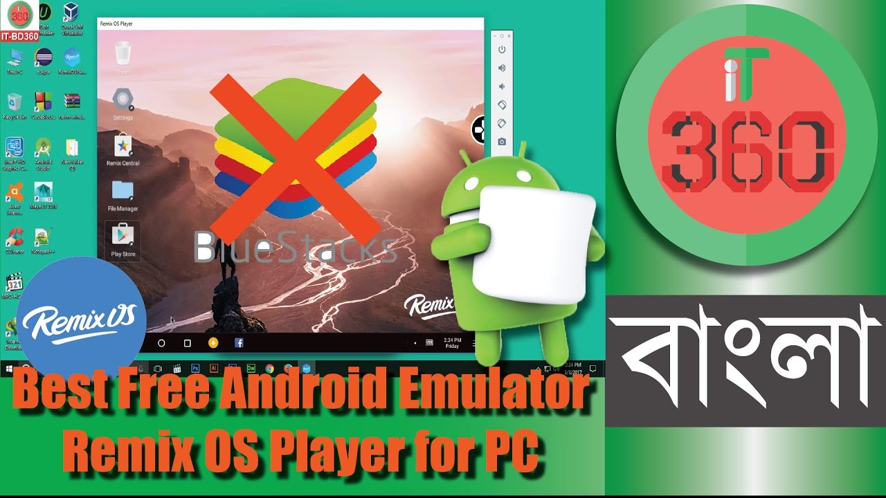 remix os player android emulator
