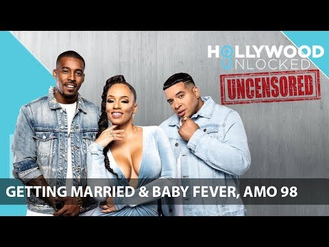 Melyssa & Damage Talk Getting Married & Baby Fever, Guest Amo 98 On Hollywood Unlocked [UNCENSORED]