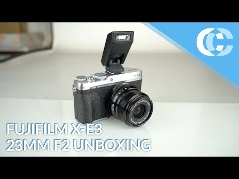 Fujifilm X-E3 XF 23mm F2 R WR (KIT) Unboxing