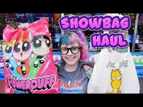 Showbag Haul - Royal Melbourne Show 2017