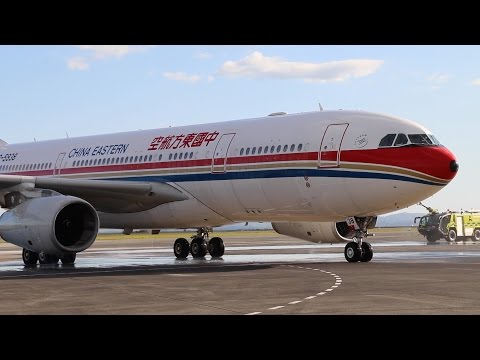 China Eastern Airways A330 New Zealand 2015
