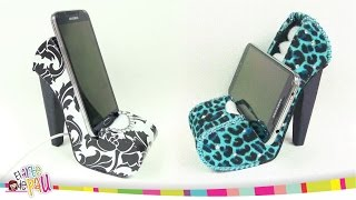 ❥DIY - Mobile Holder High Heel / Zapato Porta-Celular Thumbnail