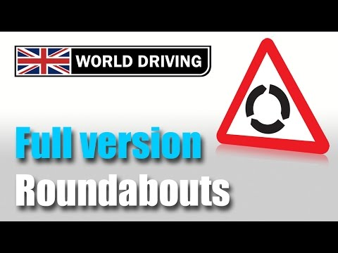 How to deal with roundabouts driving lesson: Easy to underst