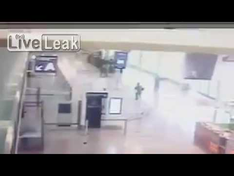 Paris Orly attack: CCTV footage emerges of gunman during French airport incident