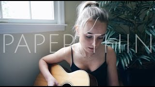 Paper Thin - Astrid S (Cover) by Alice Kristiansen