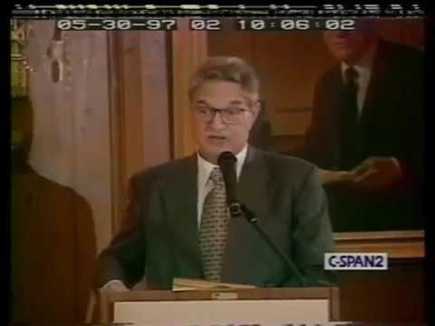 Paul Krugman vs  George Soros Debate on Capitalism, Globalization of the Economy 1997   The Best