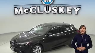 A98679NC Used 2017 INFINITI QX30 Luxury FWD 4D Sport Utility Black Test Drive, Review, For Sale -